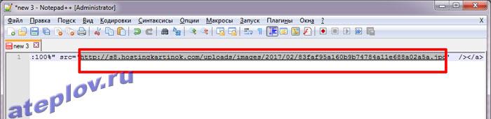 Код изображения с хостинга картинок для подписи в Яндекс почте